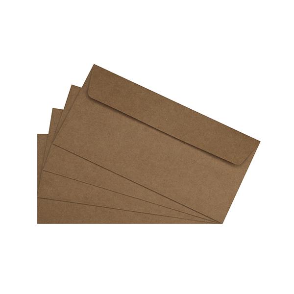 20 enveloppes kraft 120g 110 x 220 mm