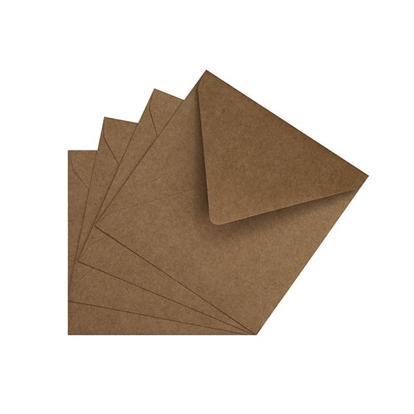 20 enveloppes kraft 120g 162 x 229 mm