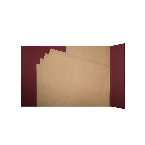 Papier Kraft 25 feuilles 160g. A3
