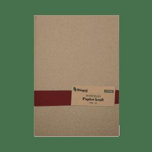 Papier Kraft 50 feuilles 160g. A4