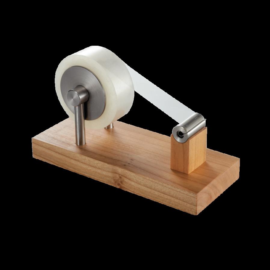 Dévidoir en bois pour ruban adhésif