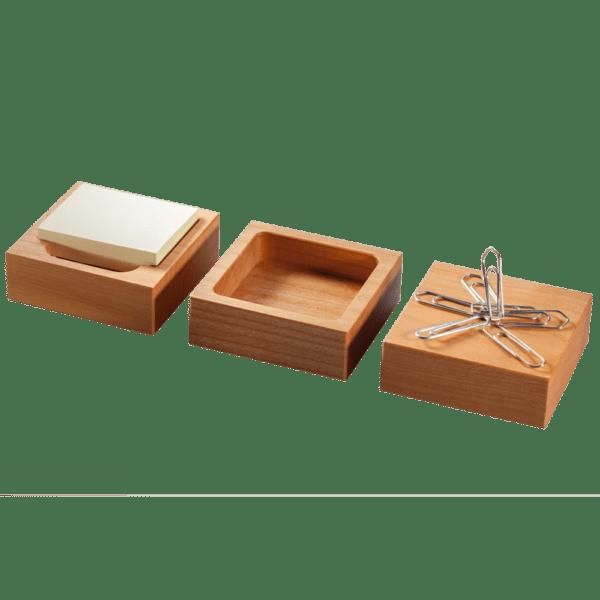 Set en bois 3 cases