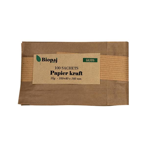 Sachet en Kraft 100% naturel & recyclable, 35g