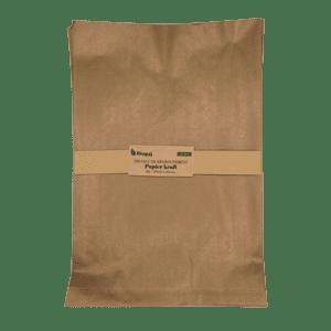 100 sacs de regroupement, papier Kraft