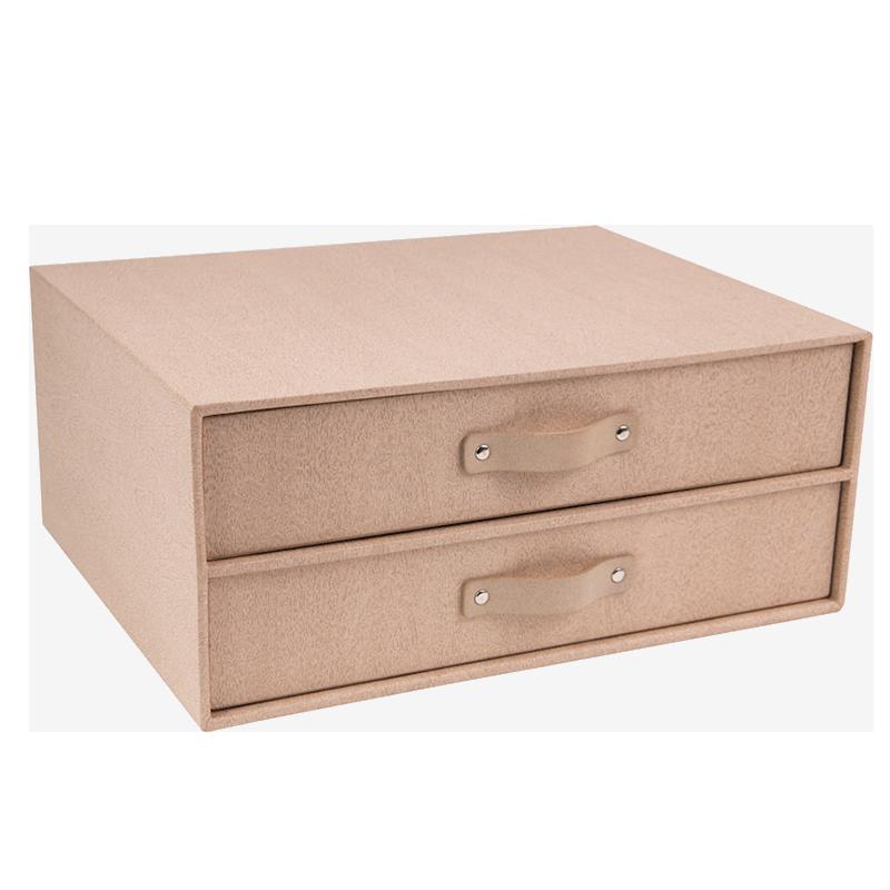 Boîte de classe à 2 tiroirs haut de gamme