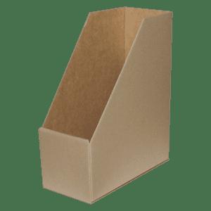 Boîte à pans coupé en carton doublé