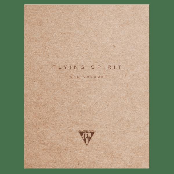 Carnet cousu 50 feuilles papier ivoire uni 90g 105 x 148 mm