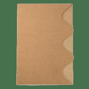 Chemise en carton ondulé