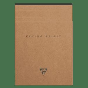 Bloc-notes en papier ivoire avec motif au dos