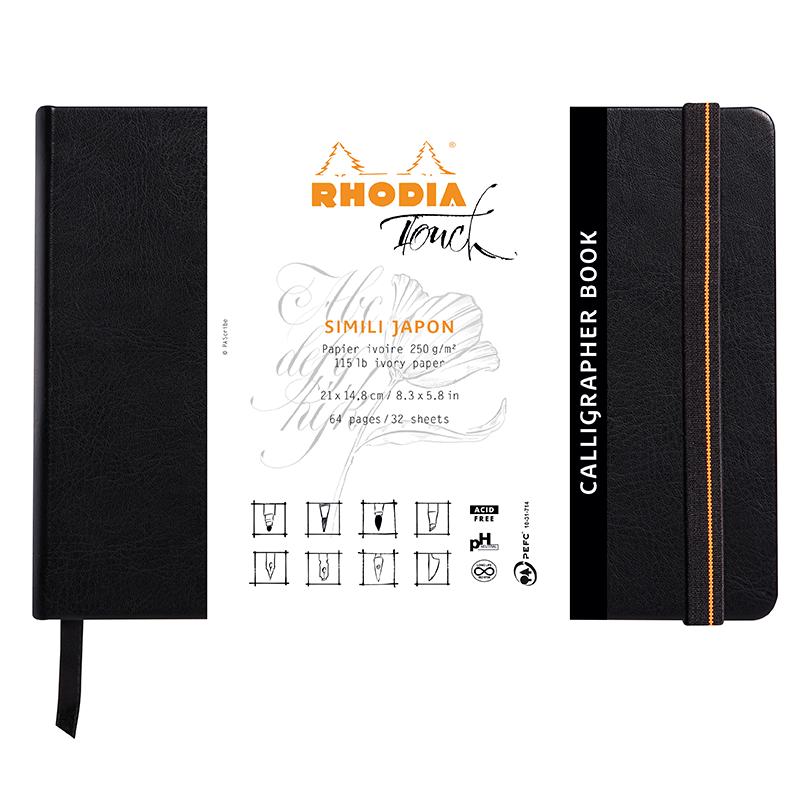 Calligrapher Book RHODIA A5
