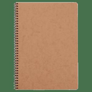 Cahier spirale 100 pages papier ligné 90g 210 x 297 mm