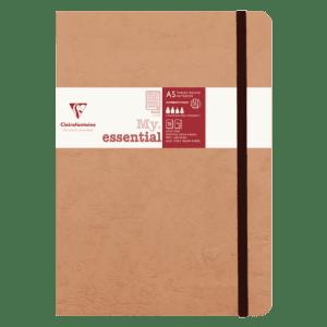 Cahier broché 192 pages papier ligné 90g 148 x 210 mm