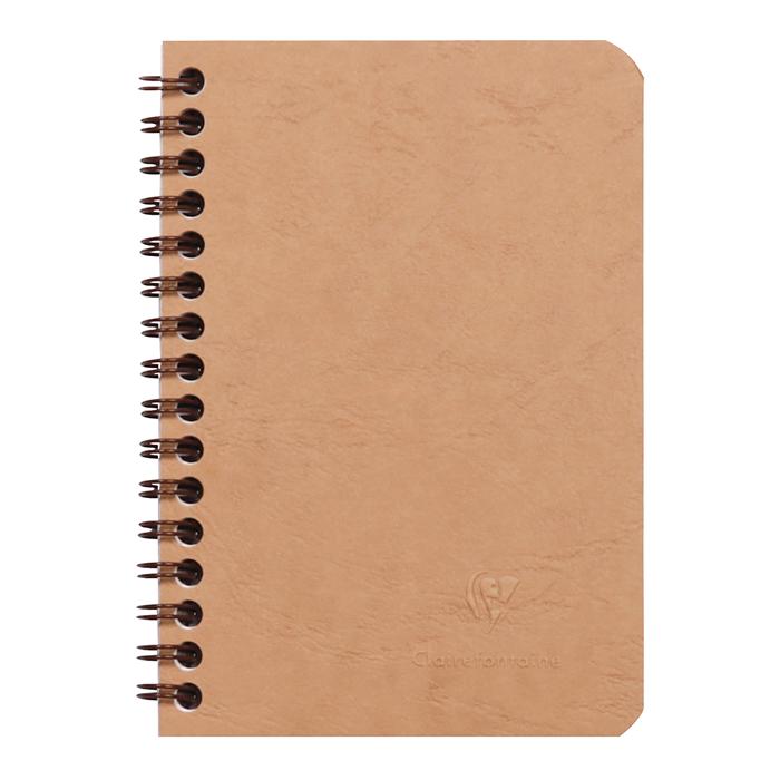 Cahier spirale 120 pages papier ligné 90g 148 x 210 mm