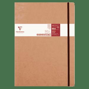 Cahier broché 192 pages papier ligné 90g 210 x 297 mm
