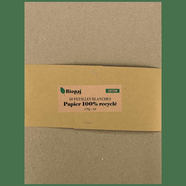 Boite en carton - Papiers recyclés blanc