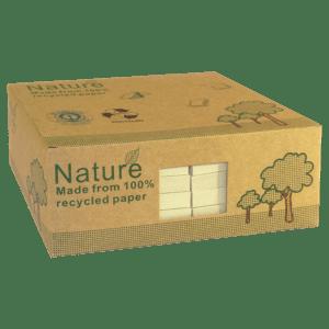 Boîte 12 blocs repositionnables (type POST-IT) 100 feuilles 75 x 125 mm
