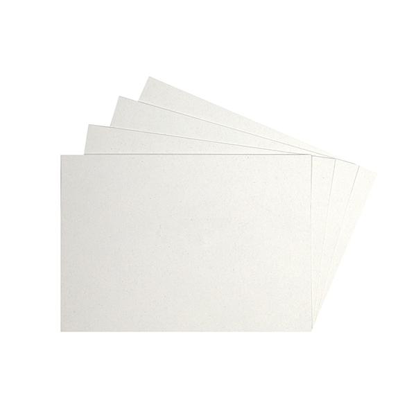 cartes blanches Papier recyclé