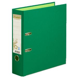 Classeur à levier coloris vert, dos de 80mm