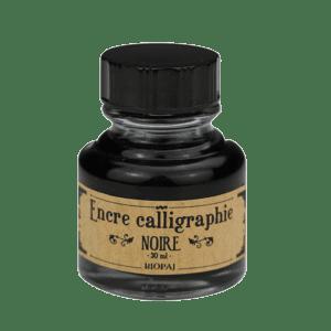 Encre noire calligraphie