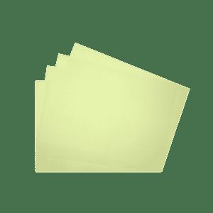 Papier recyclé jaune