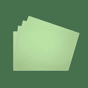 Papier recyclé vert