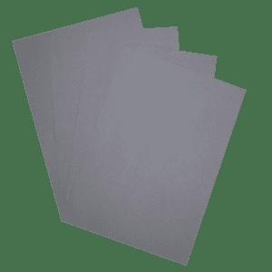 50 feuilles - papier Ombre - 110g - Gris
