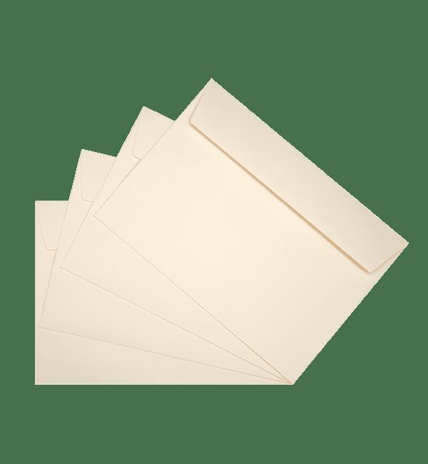 50 enveloppes ivoire 162 x 229 mm