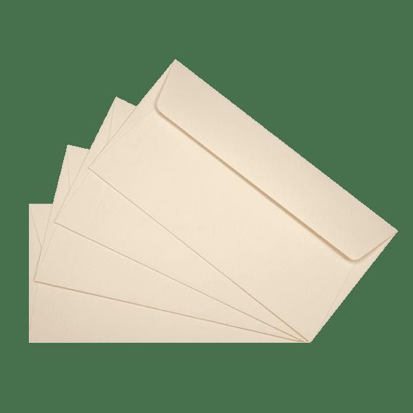 50 enveloppes ivoire 110 x 220 mm