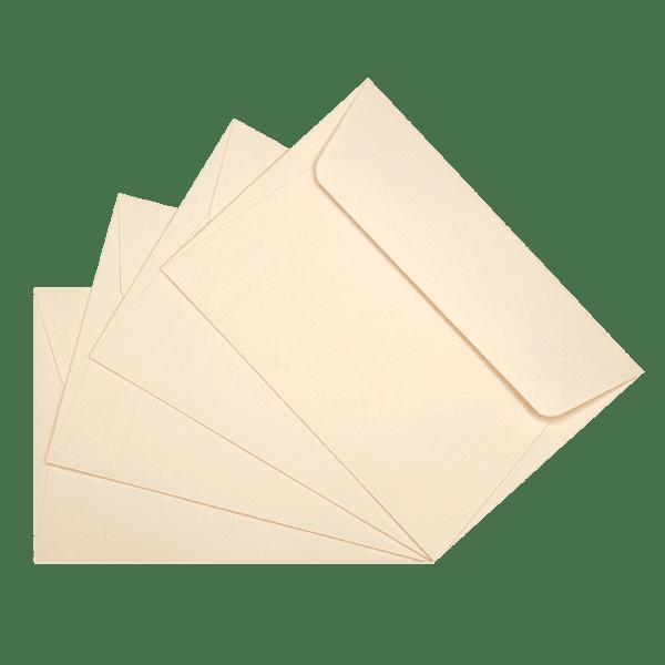 50 enveloppes ivoire 114 x 162 mm