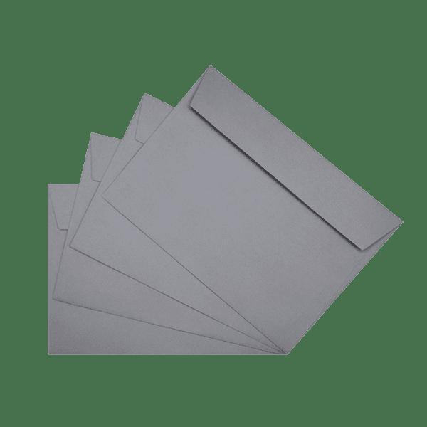 50 enveloppes grises 162 x 229 mm