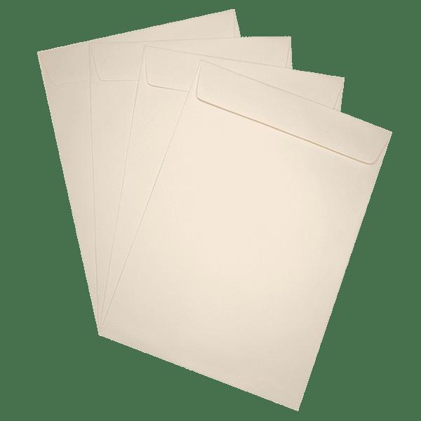 50 pochettes ivoire 229 x 324 mm