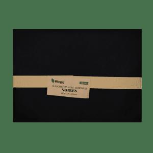 50 pochettes noires 229 x 324 mm