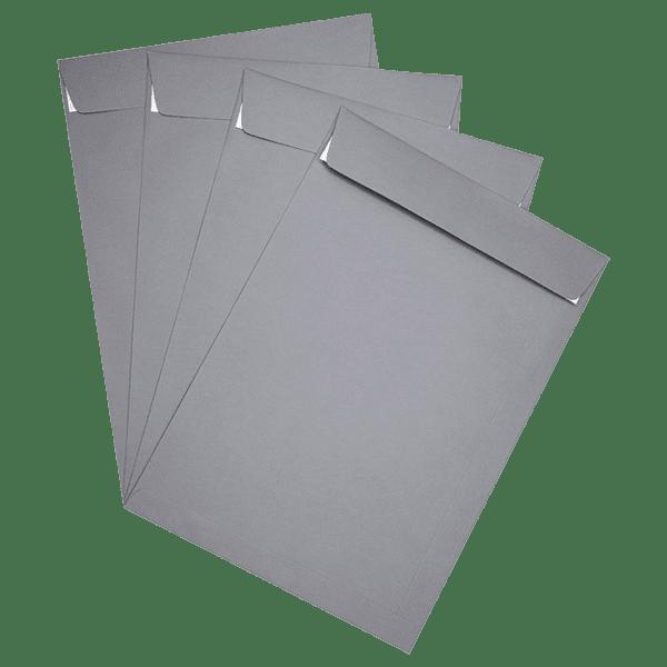 50 pochettes grises 229 x 324 mm